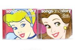 2009 Disney's Songs & Story 2 CD Lot, Cinderella, Snow White, Beauty & The Beast