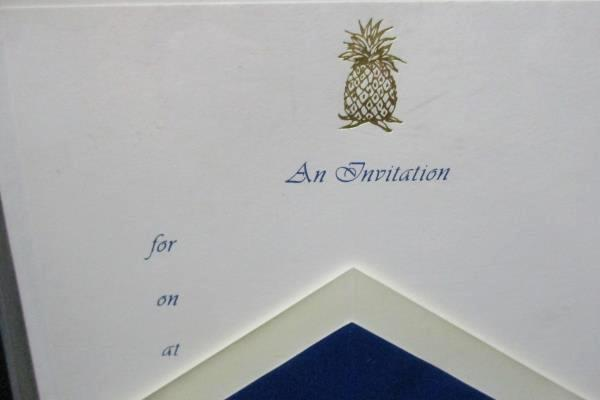 Two Boxes Of Open William Arthur Invitations With Envelopes 13 Total