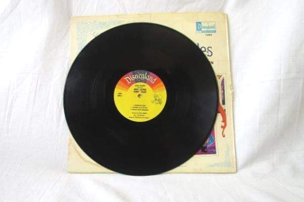 "Vintage 1968 Walt Disney Little Red Riding Hood 12"" 33 RPM Vinyl Record"