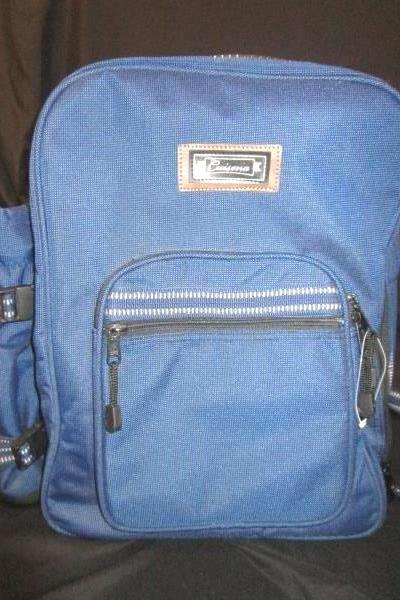 Two Person Blue Picnic Set Backpack By Cuisena 4 Zip Thermal Cup Holder Utensils
