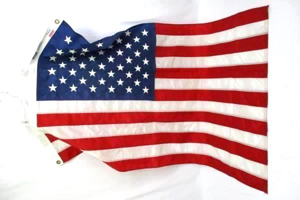 Lot Of 3 Flags Oregon & One United States Nylon  Elmer's Flags Portland
