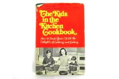 Vintage 1968 Lois Levine The Kids in the Kitchen Cookbook