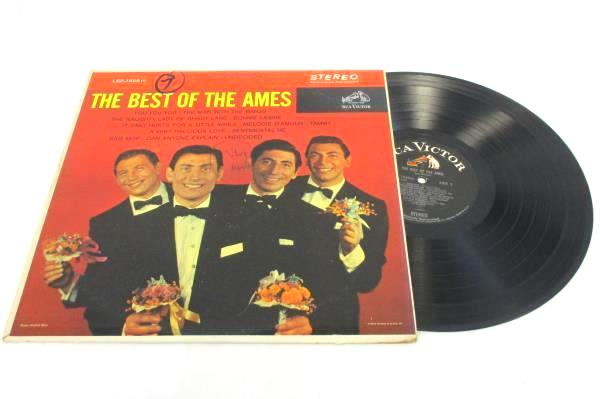 "Vintage LP 33 RPM 12"" Vinyl Record The Best of the Ames Brothers Record LSP-1859"