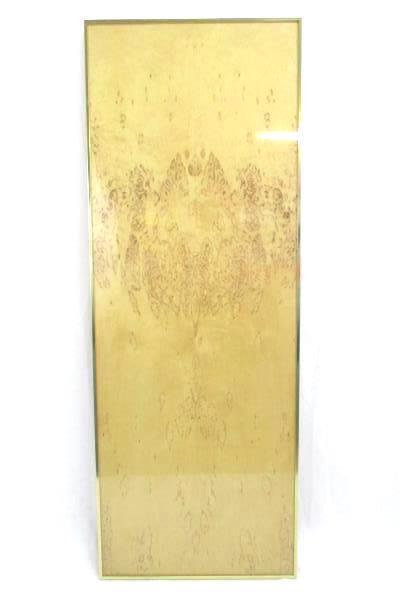"Framed Peo Scotte And Lena Cederlof Betula Verrucosa Bark Art Piece ""Cleopatra"""