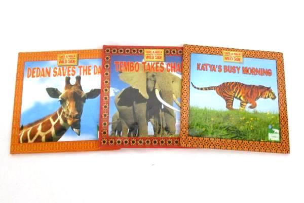 Lot Of 3 Animal Planet Take A Walk On The Wild Side Books By Thea Feldman