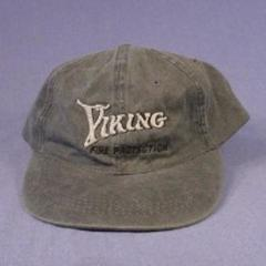 VIKING 'Fire Protection' Gray Hat Baseball Cap