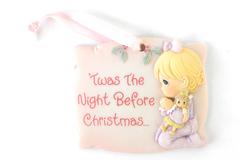 PRECIOUS MOMENTS Twas The Night Before Christmas PLAQUE