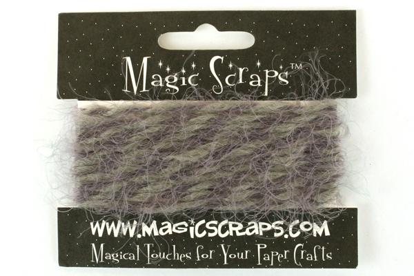 MAGIC SCRAPS Decorative FIBERS Set of 3