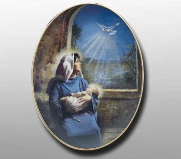 Clemente Micarelli THE BLESSED CHILD Collector Plate