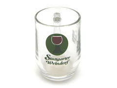 Stuttgarter Weindorf Clear Glass Beer Wine Beverage Mug