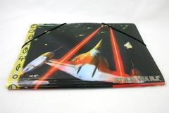 12.5 x 9 Star Wars Episode 1 Phantom Menace Fighter Starship Folder Lucasfilms