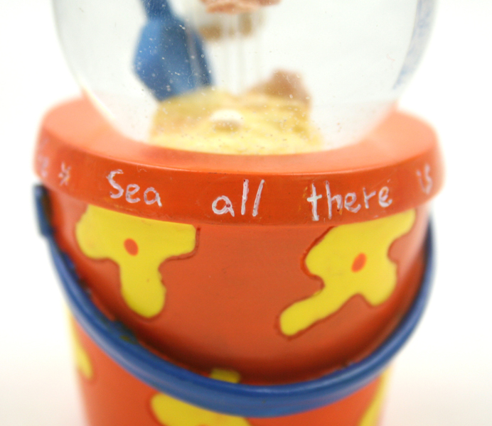 ENESCO Sea All There Is To Sea GLITTER GLOBE