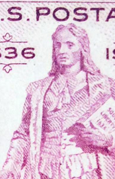 United States 3 Cent Stamp Rhode Island Tercentenary