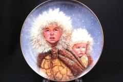 Gregory Perillo Plate Christmas Series 1991 Christmas Journey