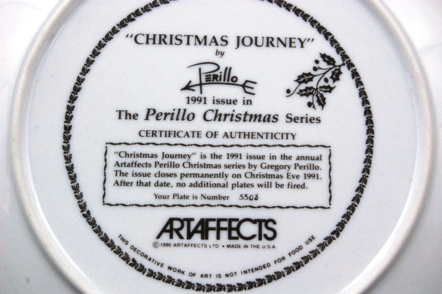 Perillo Christmas Series 1991 CHRISTMAS JOURNEY