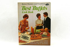 Better Homes and Gardens Best Buffets Cook Book - 1974 Hardcover