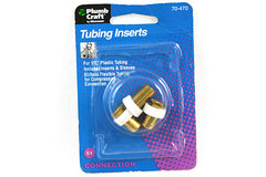 "Plumb Craft 1/2"" TUBING INSERTS 4ct."