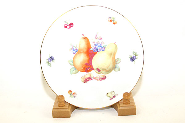 Vintage China Fruit Decor Plate From Germany