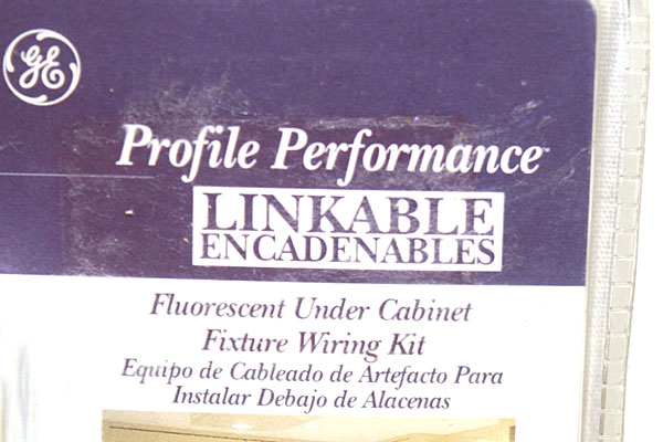 GE Profile Performance Wiring Kit Linkable Fluorescent Under Cabinet Fixture