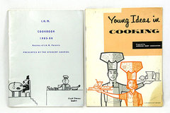 Set of 2 Softcover COOKBOOKS - YOUNG IDEAS FOR COOKING 1959 / IHM Cookbook 1985