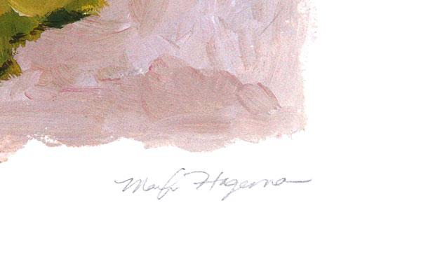 Marilyn Hageman Print - Original Artwork - SPRING IN BLOOM - Wild Apple Graphics