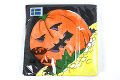 20-Pack Halloween Pumpkin Pumpor Jack O Lantern Party Cocktail Paper Napkins New