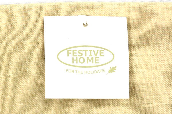Lot of 2 Linens Towels Festive Home Acorn and Leaf Fall Tan Decor Thanksgiving