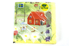 Swedish Paper Napkins - 20-Pack - PA LANDET LIAB - Made in Sweden