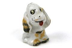 Porcelain Cocker Spaniel Figurine Japan
