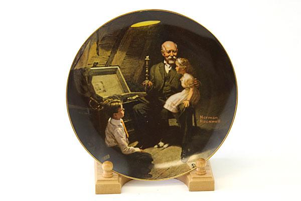 Edwin Knowles Rockwell Light Campaign Series Grandpa's Treasure Chest