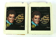 1977 The Elvis Presley Story 8 Track Tapes 1 &3