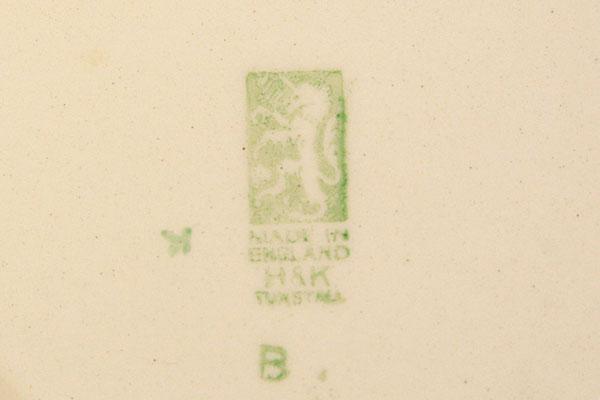 Hollinshead & Kirkham Tunstall Soup Bowl Pattern Number 4549