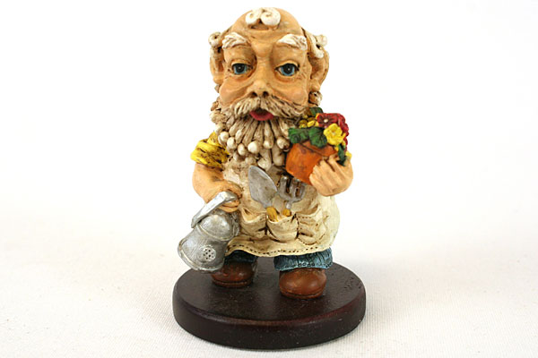 Smidgen Collectible Wee Folk George Gardener At Heart
