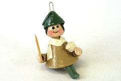 1990 Tempo Craft Hand Crafted Drummer Boy Bell Ornament