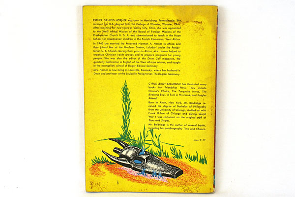 Jungles Ahead Paperback Book Revised Edition Copyright 1952 By Esther D. Horner