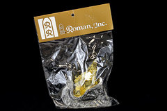 Clear Sleigh with Gold Tree and Presents - Roman Inc Ornament