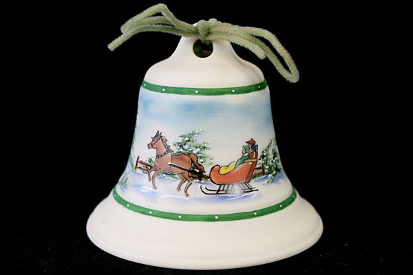 Heirloom Editions Limited Edition Sleigh Decor Bell