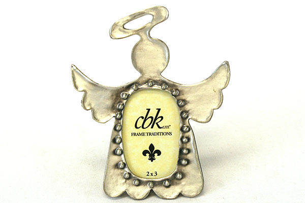 2 x 3 Small Keepsake Halo ANGEL with Wings Picture Frame Midwest CBK