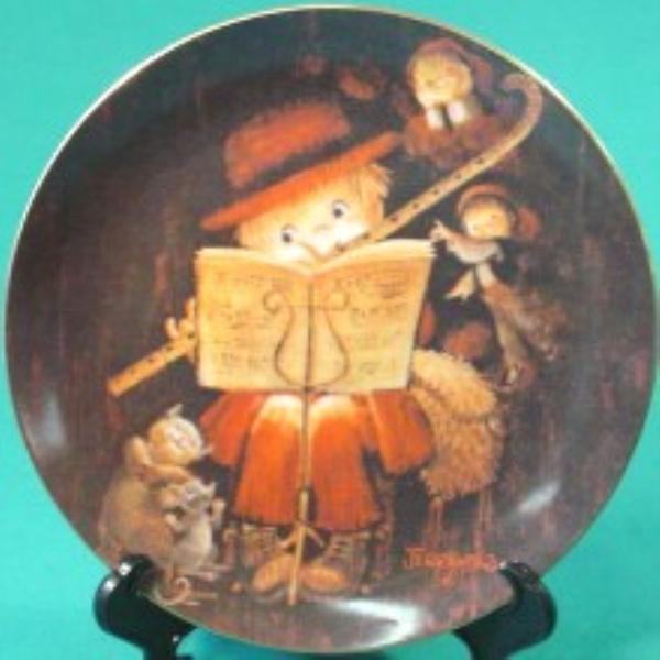 Schmid The Music Makers Flutist by Ferrandiz 1 of 4 LE Collectors Plate w/ COA