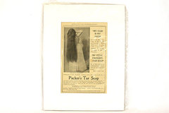 Vintage Original Packer's Tar Soap Munsey's Magazine Ad. Jan. 1898