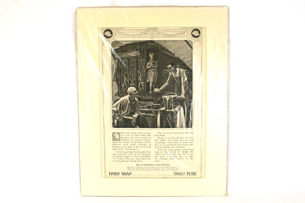 Vintage Original Ivory Soap Magazine  Ad. April 1913