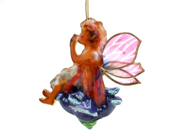 """2001 Bradford Editions """"Fairy Magic"""" Porcelain Ornament by Lisa Jane 1st Issue"""