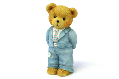 Enesco Cherished Teddies Figurine 1993 Father is the Bearer of Strength