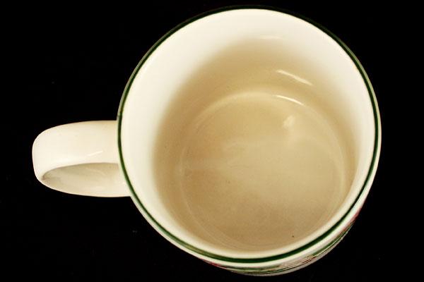 Mervyn's Majesticware Holiday Ribbon Stoneware Mug
