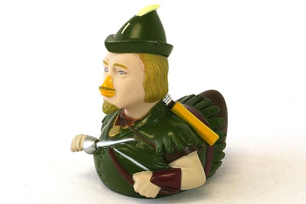 CELEBRIDUCK Rubber Ducky ROBIN HOOD Duck In Bill Clinton Box NEW