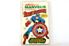 Stan Lee Marvel's Mysterious Secret Messages Paperback Book 1977 Evan Morley
