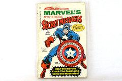 Stan Lee Marvel's Mysterious Secret Messages Paperback Book 1977 Evan Morley