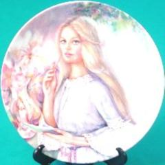 Wedgwood The Love Letter 1986 Plate Portraits of First Love by Mary Vickers
