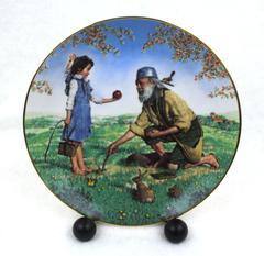 Johnny Appleseed America Folk Heroes Series Crown Parian LE 1984