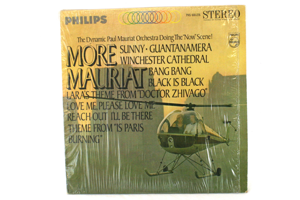 Phillips More Mauriat PHS 600-226 Stereo Record LP